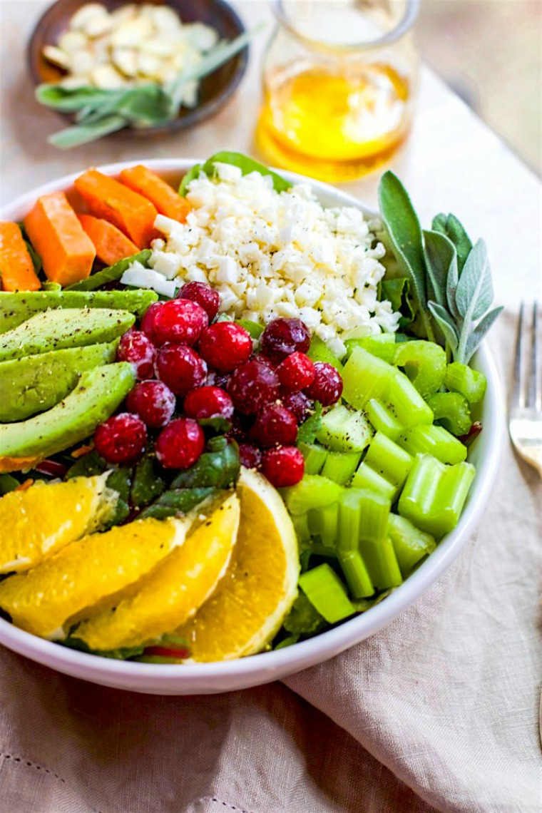 seasonal paleo cobb salad cotter crunch