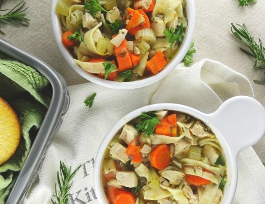 classic chicken noodle soup the cheerful kitchen