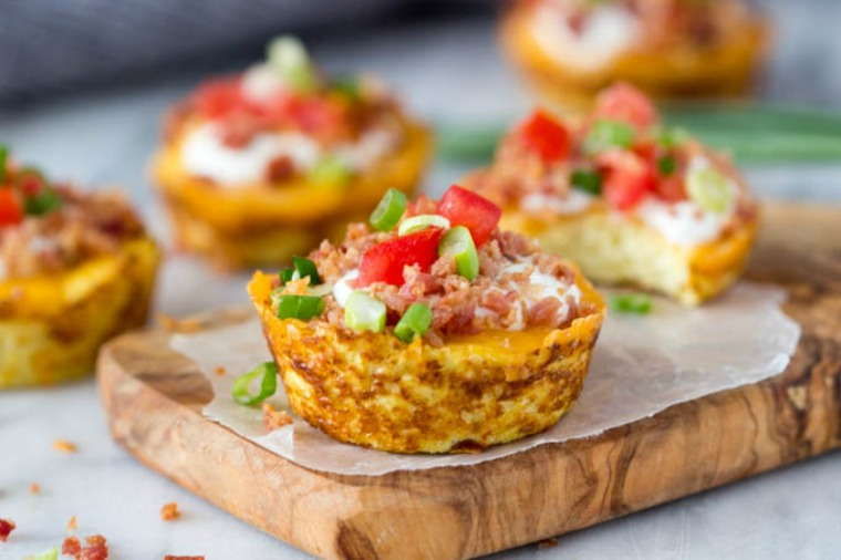 faux loaded potato skins simple healthy kitchen
