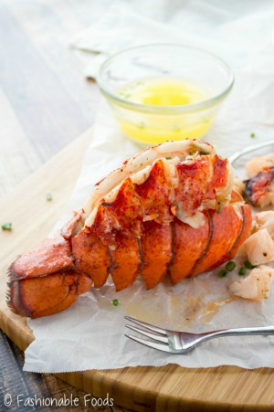 perfect lobster with butter fashionable foods