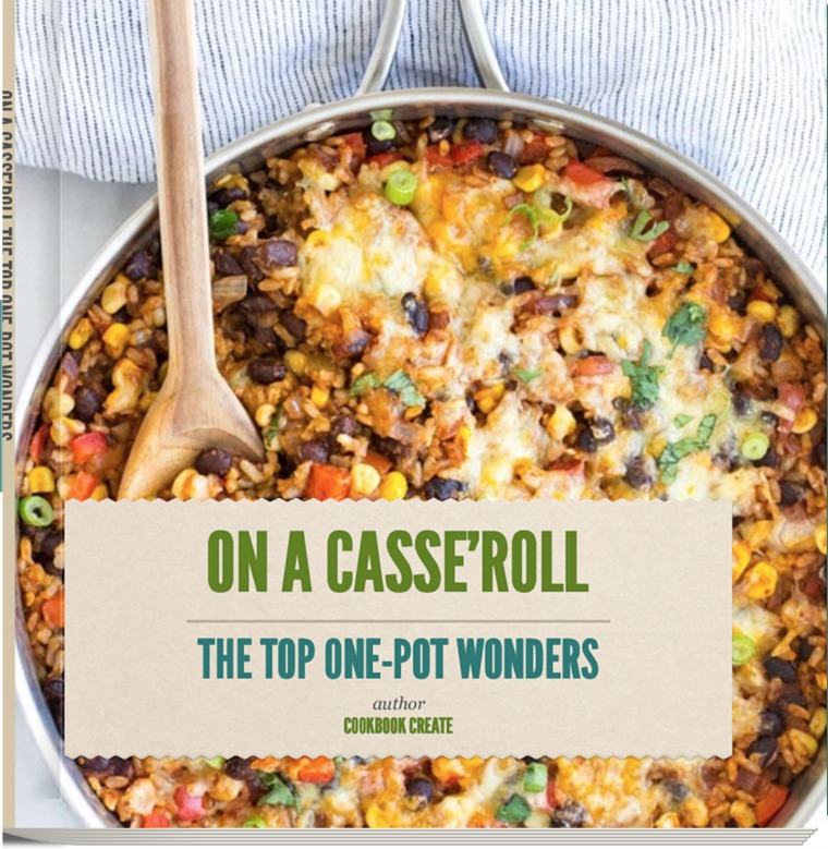 cookbook create casserole cookbook
