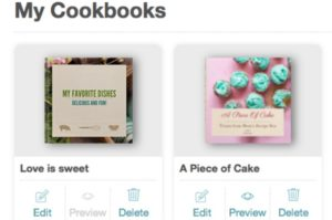 Creating cookbooks with cookbook create
