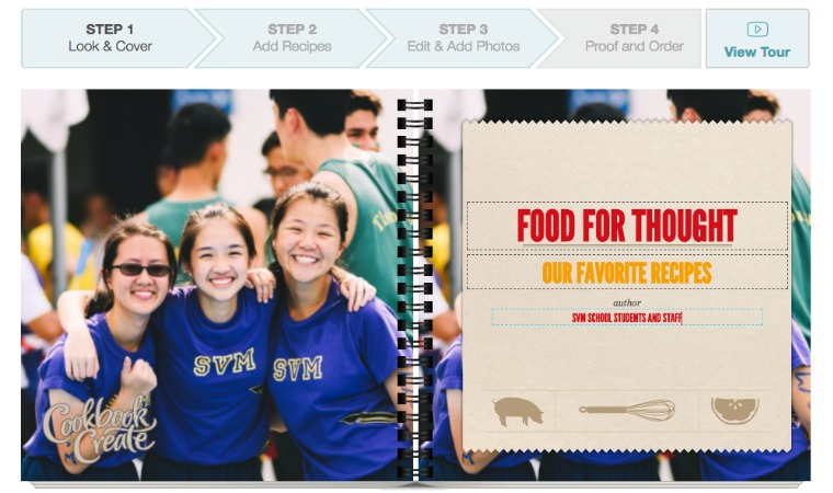 fundraising cookbook