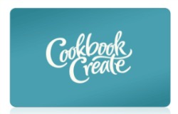 cookbook create gift cards